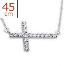 Srebrny Poprzeczny Krzyżyk