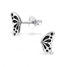 Kolczyki Skrzydełka Motyla