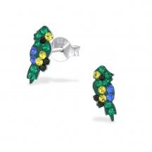 Kolczyki Papużki