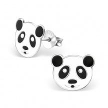 Kolczyki z Misiem Panda