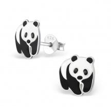 Kolczyki Misie Pandy