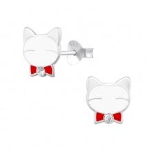 Kolczyki Koty dla Dzieci