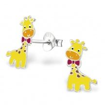 Kolczyki Żółte Żyrafy