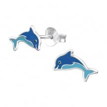 Kolczyki Delfin