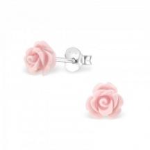 Kolczyki Różowa Róża