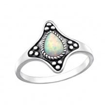Pierścionek Opal