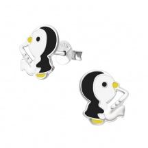Kolczyki z Pingwinkami