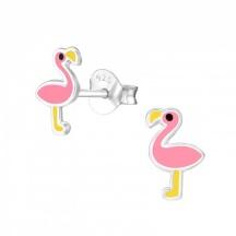 Kolczyki dla Dzieci z Flamingiem