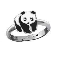 Pierścionek Miś Panda