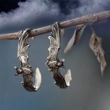 Kolczyki Koła Nietoperze