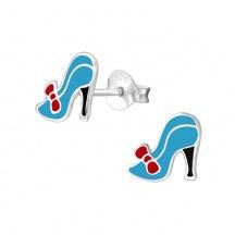 Kolczyki Niebieskie Buty