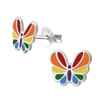 Kolczyki Motylki dla Dzieci