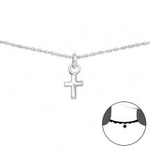Łańcuszek z Krzyżykiem dla Dziewczynki