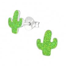 Kolczyki Kaktus