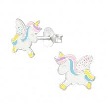Kolczyki Pastelowy Unicorn