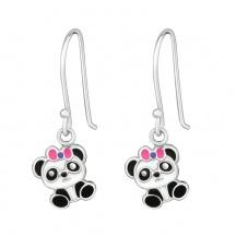 Kolczyki Pandy dla Dziewczynki