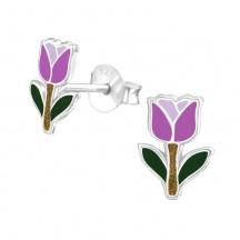 Kolczyki z Tulipanami