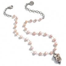 Naszyjnik z Różowych Pereł