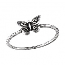 Pierścionek Motyl