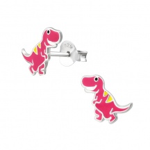 Komplet Kolczyków z Dinozaurem