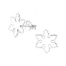 Kolczyki Płatek Śniegu