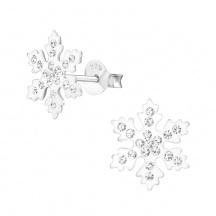 Kolczyki Śnieżynki
