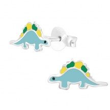 Dinozaury Kolczyki dla Dziewczynki