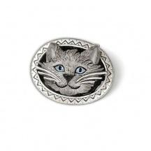 Broszka Szary Kot