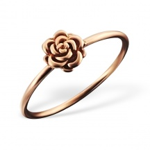 Pierścionek z różą